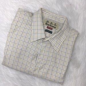 Barbour Sporting Tattersall button front shirt XXL